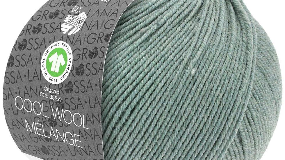 Cool Wool Mèlange | 109 - Graugrün meliert