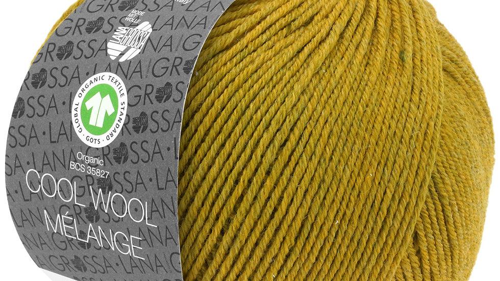 Cool Wool Mèlange | 108 - Olivgelb meliert