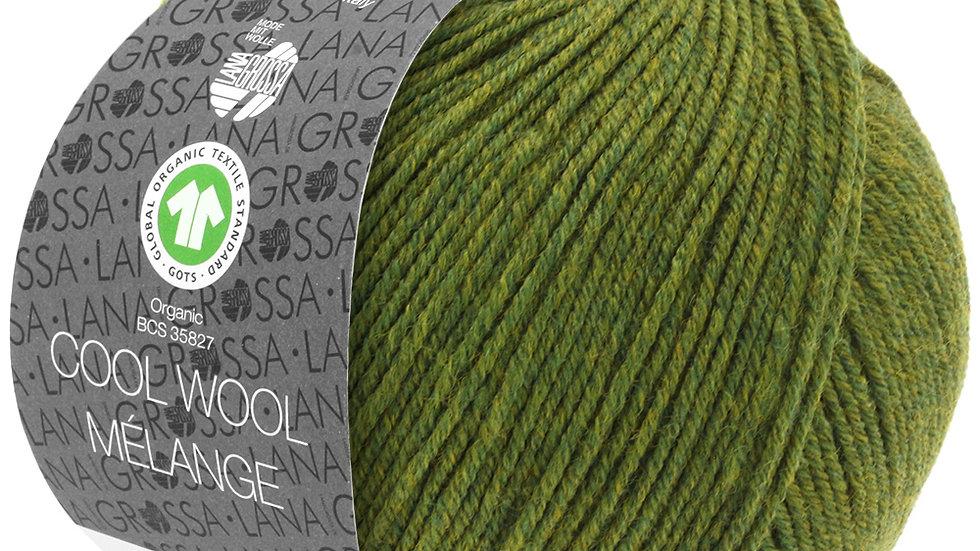 Cool Wool Mèlange | 113 - Oliv meliert