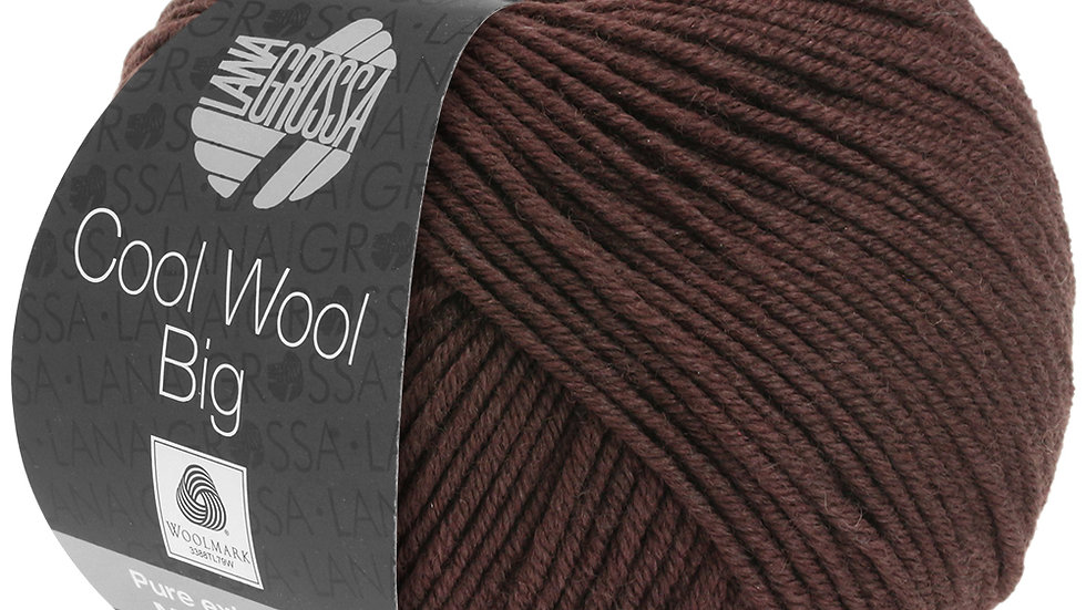 Cool Wool BIG | 987 - Schokobraun