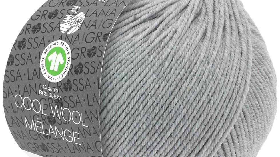 Cool Wool Mèlange | 122 - Hellgrau meliert