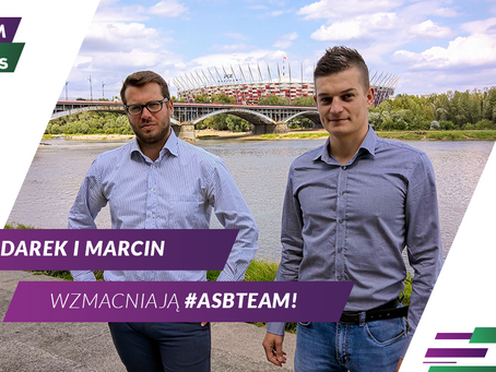 Marcin Bratkowski i Dariusz Wądrzyk wzmacniają #ASBTeam