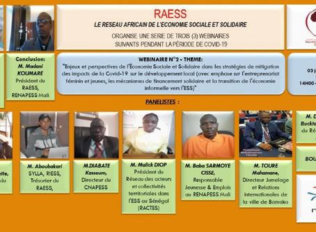 RAESS: Le réseau Africain de l'Economie Sociale et Solidaire