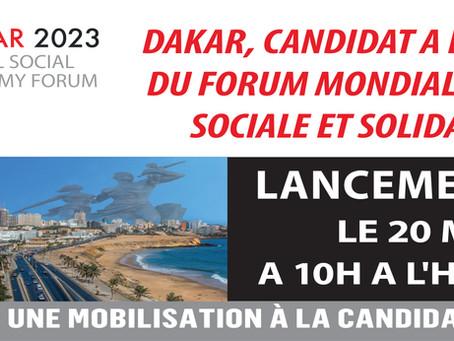 Lancement Candidature Dakar au forum GSEF 2023