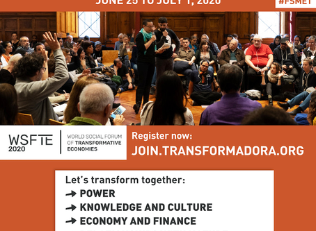 Forum social du monde virtuel et économie transformatrice
