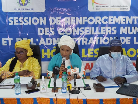 La Ville de Dakar et le RACTES renforcent les capacités des élus locaux en ESS