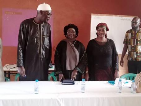 Programme de renforcements de capacités des groupements de jeunes et de femmes