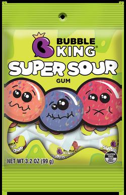 Bubble King Super Sour Gum