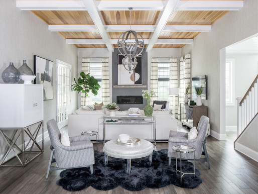 """HOME TOUR: a """"livable luxe"""" NJ dream house by Karen Wolf"""