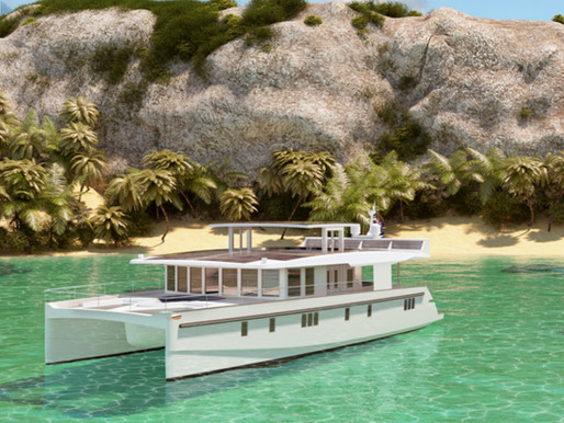 SUN SALUTATION: Serenity solar-powered yachts