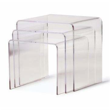 haute home l.a. acrylic nesting tables $189 hautehomela.com