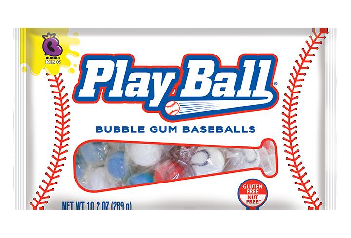Bubble King PlayBall Bubble Gum Baseballs