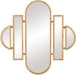 oval vanity wall mirror