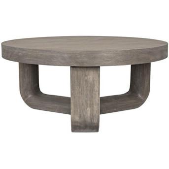 Joel coffee table in distressed grey