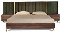 Vig queen bed unit