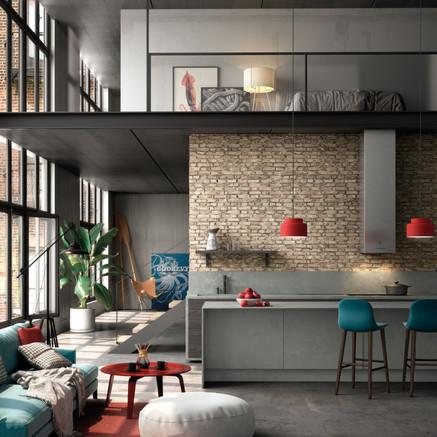 URBAN RENEWAL: the Silestone® Loft Series by Cosentino