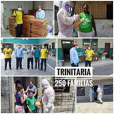 Entregamos ayuda a 250 Familias en Trini