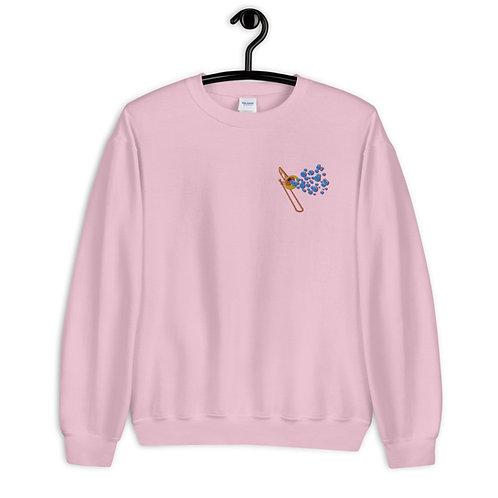 Crewneck Embroidered Sweatshirt