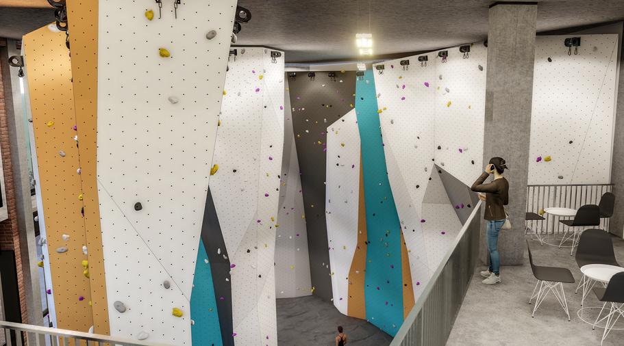 climbing wall visualization