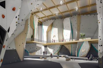 Climbing gym design