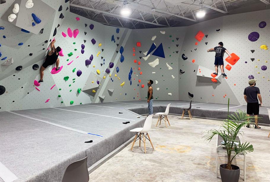 bouldering walls design
