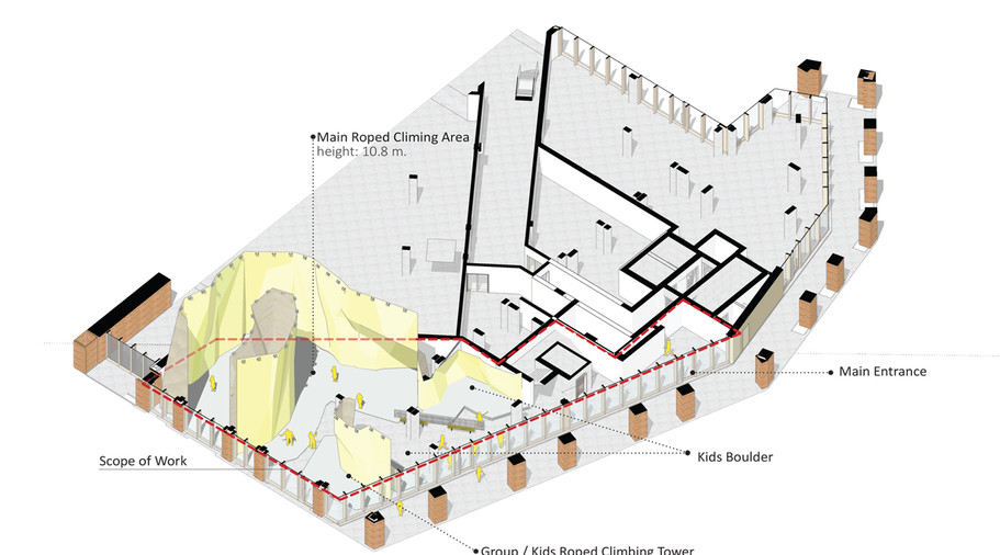 climbing walls design