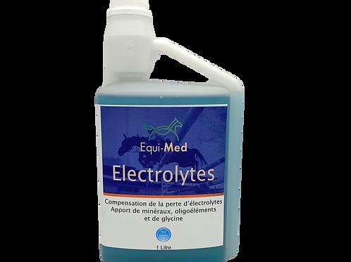 électrolytes cheval récupération