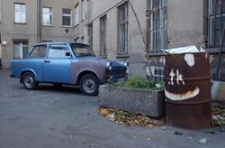 Berlin Old Trabbi