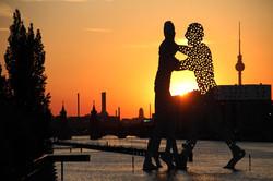 Sunset Elsenbrücke Berlin