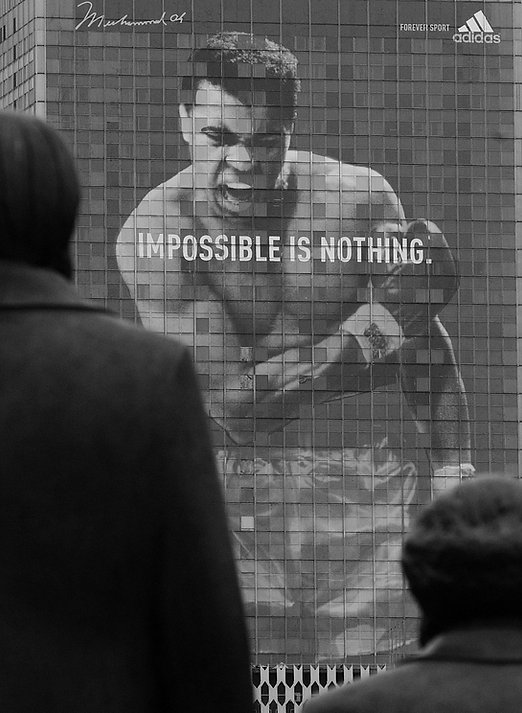 impress picture - Impossible Is Nothing