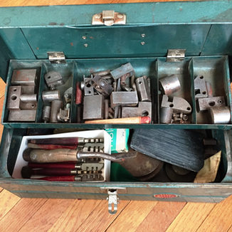 Rene Zabeau tool box used before 1961