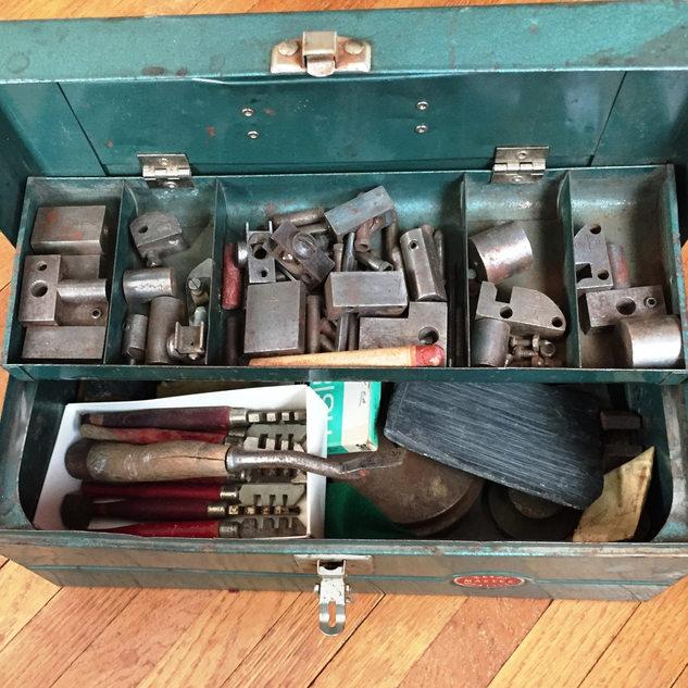 Rene Zabeau tool box used before 1961