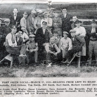 1926 photo of cutter and others