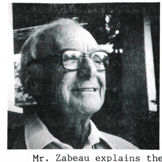 Rene Zabeau in his later years.