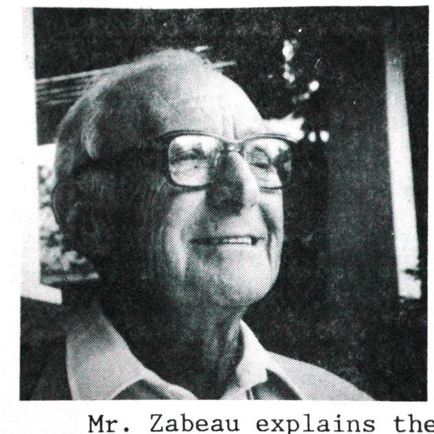 Rene Zabeau in his later years.