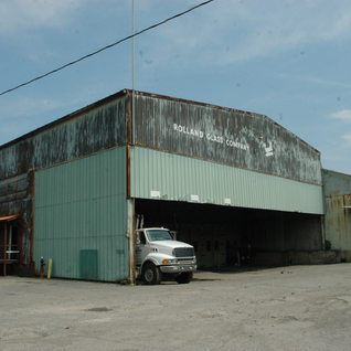 Rolland loading dock and warehouse still remains 2017.