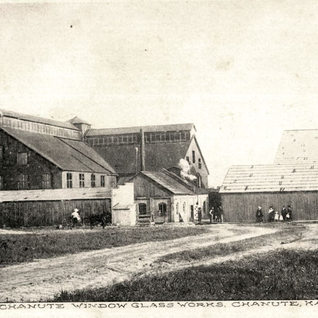 The Chanute Glass Works 1907.