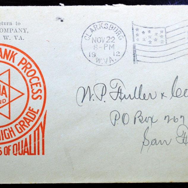 1912 business letterhead tells it all.