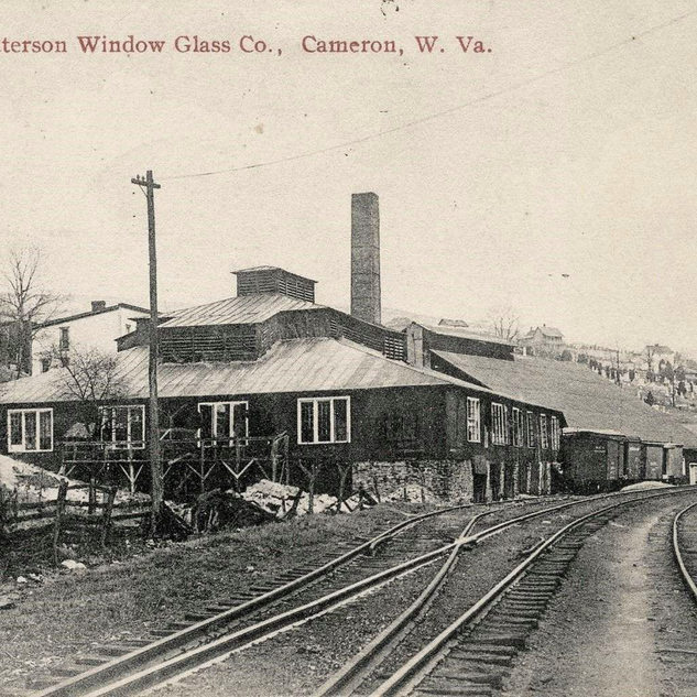 The Patterson plant around 1915 and opened in 1901.