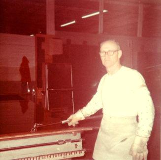 Darrel Rhodes - heavy cutter at Adamston Flat