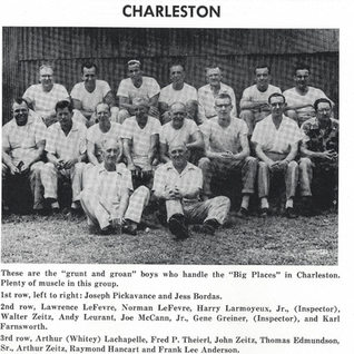 Charleston cutters at Libbey 1956