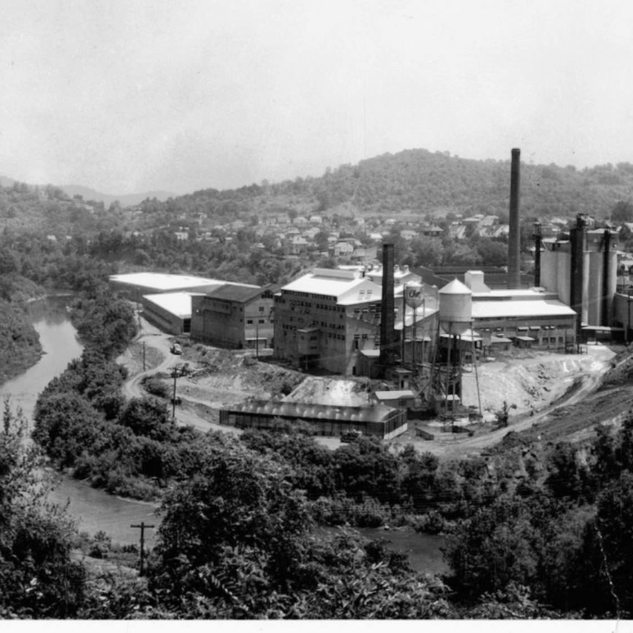 Final look at Rolland plant from this angle 1960's.
