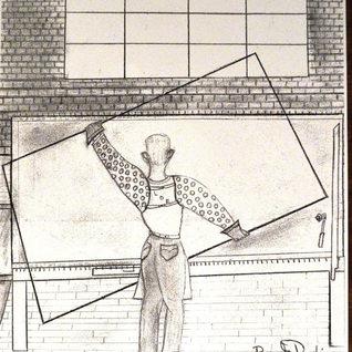 Cartoon of a Libbey Owens cutter by G. Robinson.