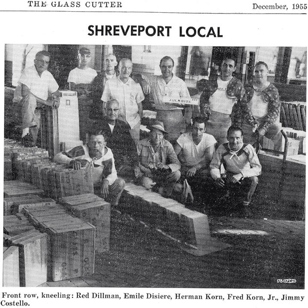 In 1922 Libbey Owens opened a plant in Shreveport.