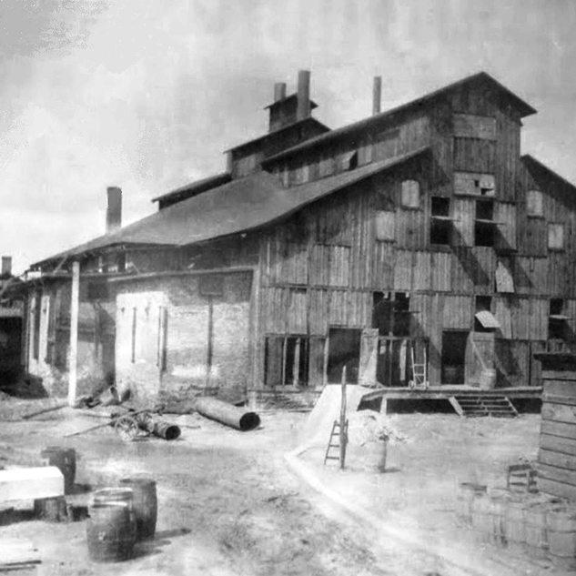 Clyde Glass Factory, circa 1900