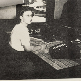 Mildred Metheny Rolland, office.