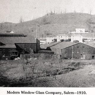 Modern window glass company built in 1910.