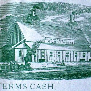 A look at the Syracuse NY plant around 1850.