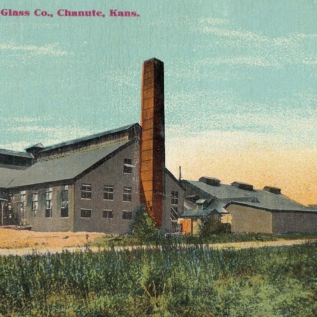 Chanute Window Glass plant Chanute Kansas.