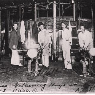 Gatherers at Utica Ohio